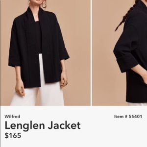 Aritzia Lenglen Jacket
